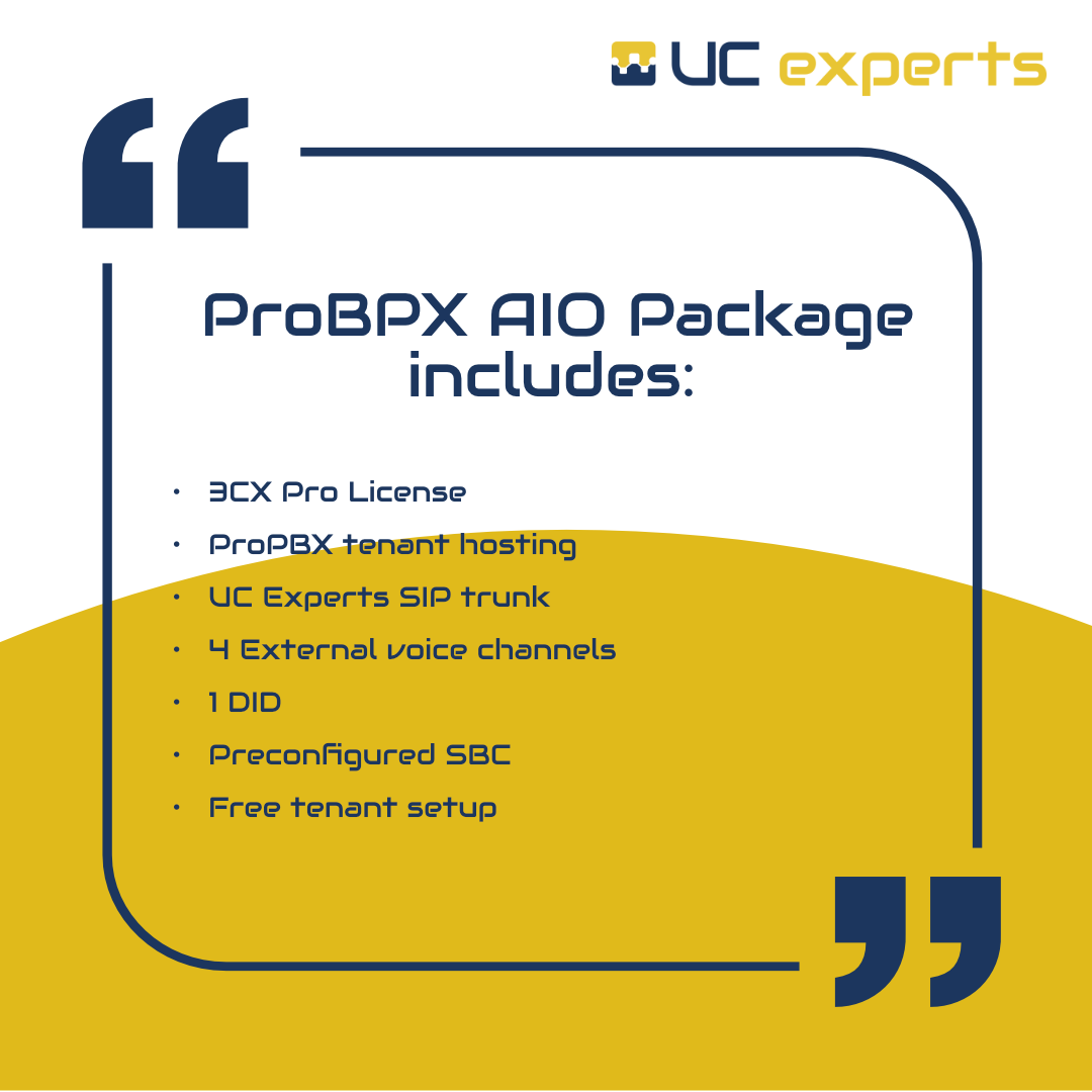 ProPBX AIO Package