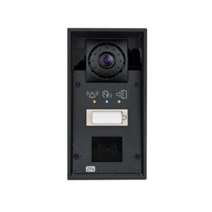 2N® IP Force - 1 button, HD camera, pictograms, 10W speaker (card reader ready)