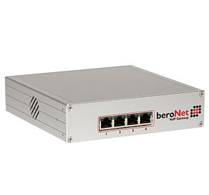 beroNet boxed Baseboard supports 16-64 concurrent channels, incl. 1x BFBridge