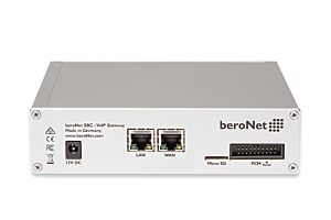 Up to 64 channels modular VoIP SBC with 4 BRI/S0 ports, expandable by 2 Modules (BNMO-XX), 12 RJ45 slots, Dual NIC and 2 sessions free