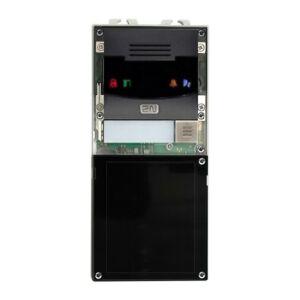 2N® IP Verso - Main unit with camera - black
