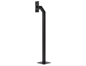 2N® IP Force and Safety - Gooseneck stand, 120cm/47in