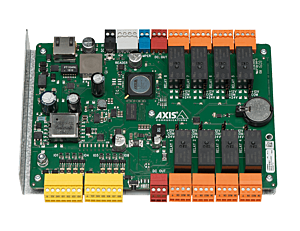 AXIS A9188 Network I/O Relay Module (8 relays = up to 8 floors control)
