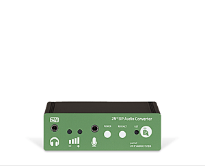 2N® SIP Audio Converter set with Speaker and Mic