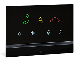 2N® Indoor Talk, Black  (must be together with 91378800)