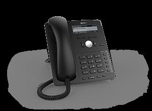 Snom Global D715 Desk Telephone Black