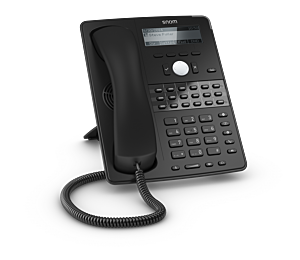 Snom Global D725 Desk Telephone Black