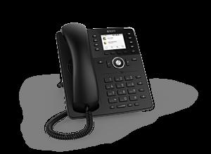 Snom Global D735 Desk Telephone Black