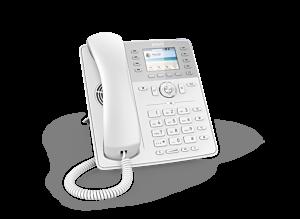 Snom Global D735 Desk Telephone White