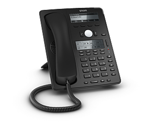 Snom Global D745 Desk Telephone Black