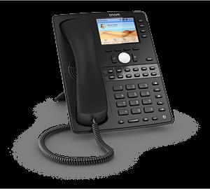 Snom Global D765 Desk Telephone Black